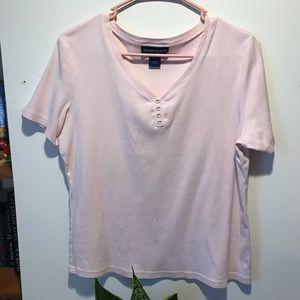 Pink Button Shirt